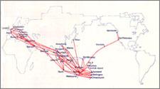 Qantas Qantas Route Map on nok air route map, direct air route map, maldives air route map, thai route map, air canada route map, delta route map, cathay pacific route map, island air route map, tap air portugal route map, tiger air route map, lot polish route map, air niugini route map, ba cityflyer route map, independence air route map, lan ecuador route map, key lime air route map, dragonair route map, biman route map, qatar airways route map,