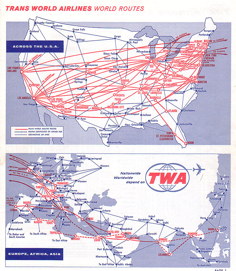 World Airline Route Map http://www.airtimes.com/cgat/usc/twa.htm